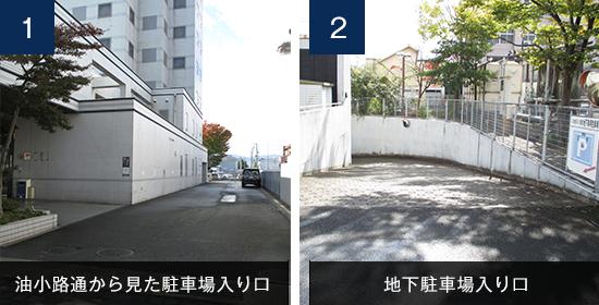パルセスイン京都 駐車場