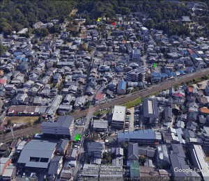 石峰寺MAP google Earth