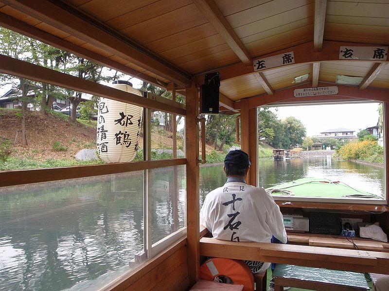 伏見十石舟(ふしみじゅっこくぶね)